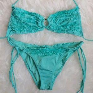 Victoria's Secret Mini Ruffles String BikiniSz SM
